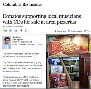 Local Music Shelf Story